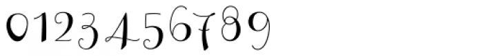 Curly Font OTHER CHARS