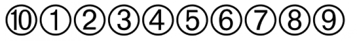 Currency Pi Font OTHER CHARS