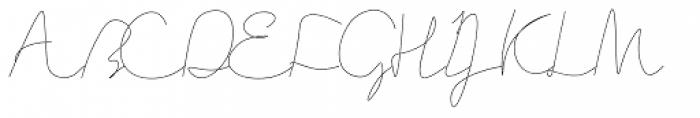 Current Font UPPERCASE