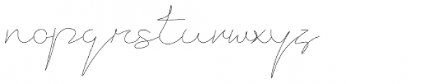 Current Font LOWERCASE