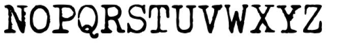 Curser Font UPPERCASE