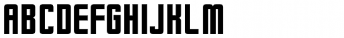 Curtain Up Solid JNL Font UPPERCASE