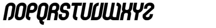 Curvature Black Italic Font UPPERCASE