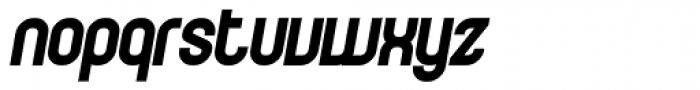 Curvature Black Italic Font LOWERCASE