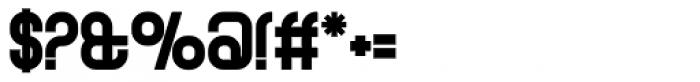 Curvature Black Font OTHER CHARS