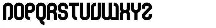 Curvature Black Font UPPERCASE