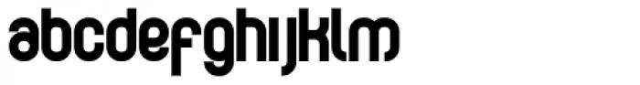 Curvature Black Font LOWERCASE