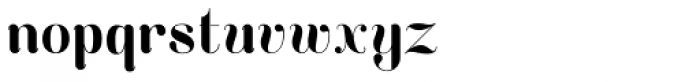 Curvesta Font LOWERCASE