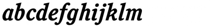 Cushing Bold Italic Font LOWERCASE