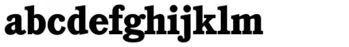 Cushing Heavy Font LOWERCASE