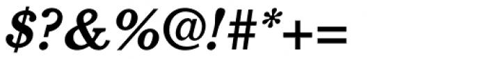 Cushing Std Bold Italic Font OTHER CHARS