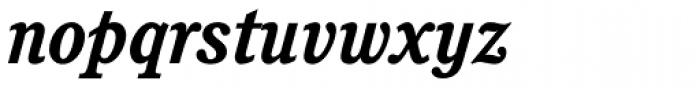 Cushing Std Bold Italic Font LOWERCASE