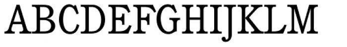 Cushing Std Book Font UPPERCASE