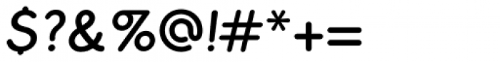 Cushy Italic Font OTHER CHARS