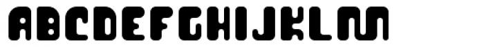 Cusp Globular Font UPPERCASE