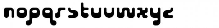 Cusp Globular Font LOWERCASE