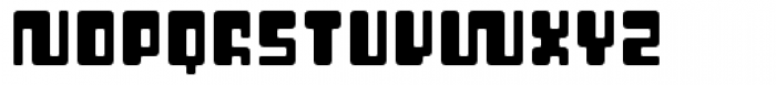 Cusp Rounder Font UPPERCASE