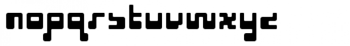 Cusp Rounder Font LOWERCASE