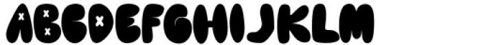 Cute Lime Regular Font UPPERCASE