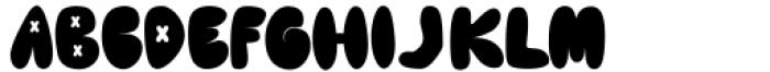 Cute Lime Regular Font LOWERCASE