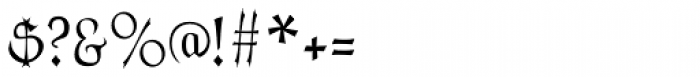 Cuthbert Font OTHER CHARS