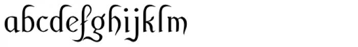 Cuthbert Font LOWERCASE