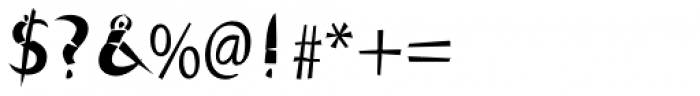 Cutout Std Font OTHER CHARS