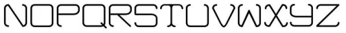 Cutting Corners Thin Font UPPERCASE