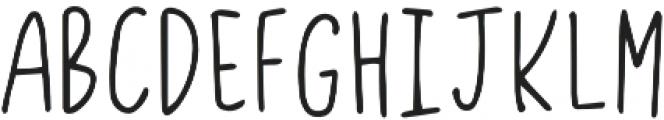 CW Sans otf (400) Font UPPERCASE