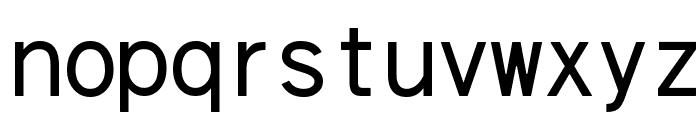 cwTeXHei Font LOWERCASE
