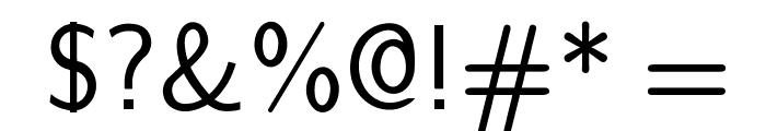 cwTeXYen Font OTHER CHARS