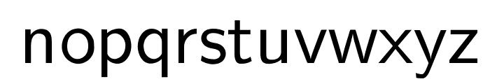 cwTeXYen Font LOWERCASE