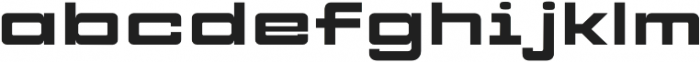 CYBER FREIGHT Normal otf (400) Font LOWERCASE