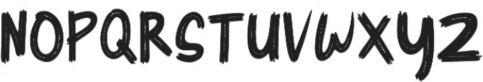 Cyber Brush otf (400) Font UPPERCASE