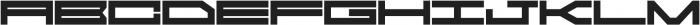 CyberSiberia otf (400) Font UPPERCASE