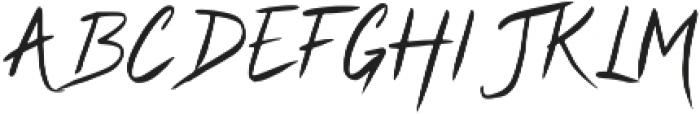 Cyclamen Regular otf (400) Font UPPERCASE