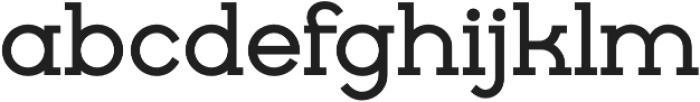 Cyclic Bold otf (700) Font LOWERCASE