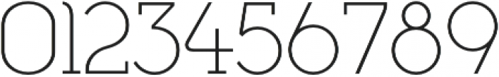 Cyclic Light otf (300) Font OTHER CHARS
