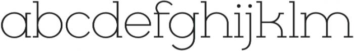 Cyclic Light otf (300) Font LOWERCASE