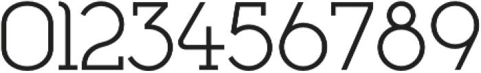 Cyclic Regular otf (400) Font OTHER CHARS