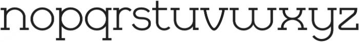 Cyclic Regular otf (400) Font LOWERCASE