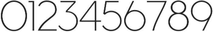 Cyclic Sans Light otf (300) Font OTHER CHARS