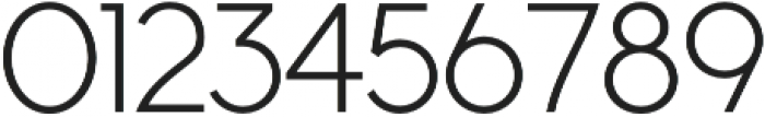 Cyclic Sans Regular otf (400) Font OTHER CHARS