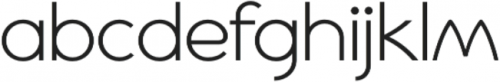 Cyclic Sans Regular otf (400) Font LOWERCASE