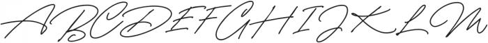 CynthiaBlooms-Regular otf (400) Font UPPERCASE