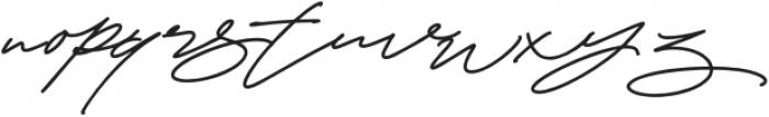 CynthiaBlooms-Regular otf (400) Font LOWERCASE