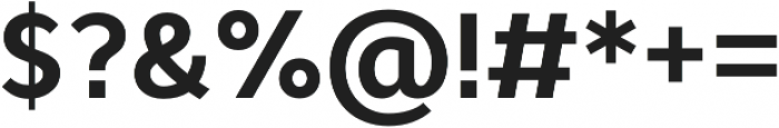 Cyntho Pro Bold otf (700) Font OTHER CHARS