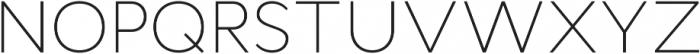 Cyntho Pro ExtraLight otf (200) Font UPPERCASE