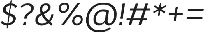 Cyntho Pro Italic otf (400) Font OTHER CHARS