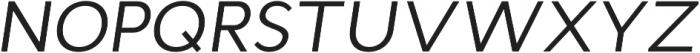 Cyntho Pro Italic otf (400) Font UPPERCASE